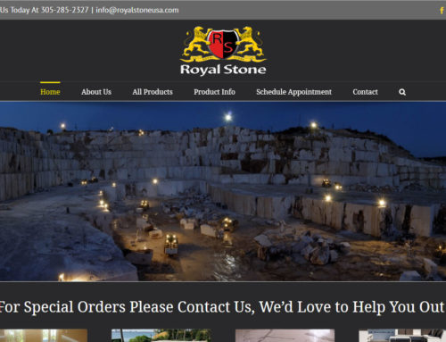 Royal Stone Website
