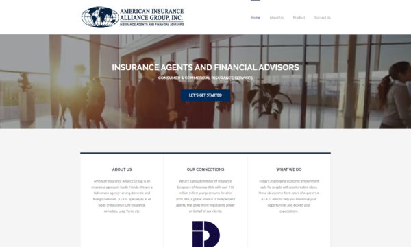 American Insurance Alliance Group website
