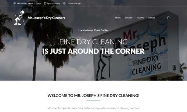 MR. JOSEPH'S FINE DRY CLEANING