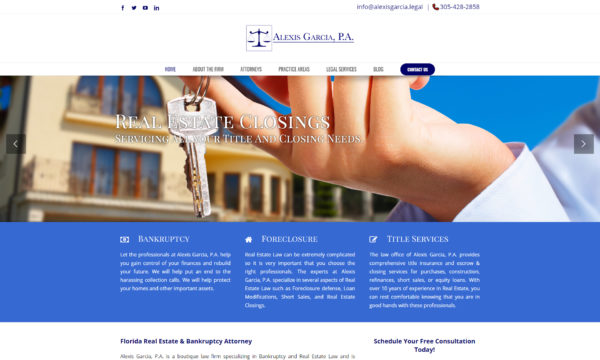 alexis garcia legal website