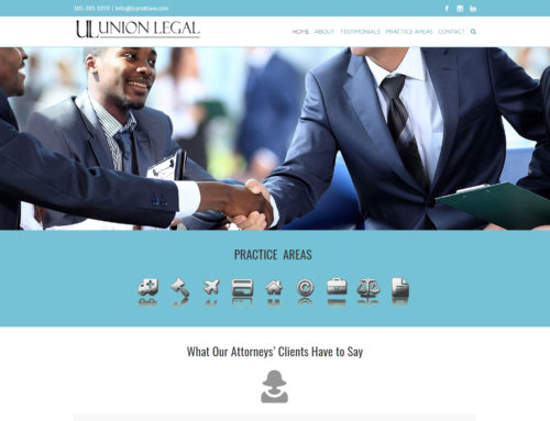 Union Legal Website Design